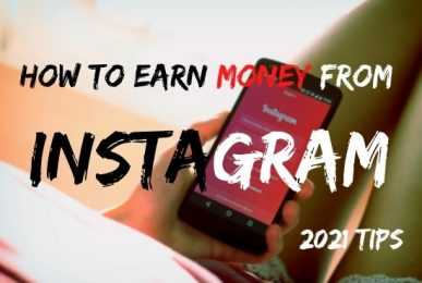 Ways You Can Earn Money From Instagram